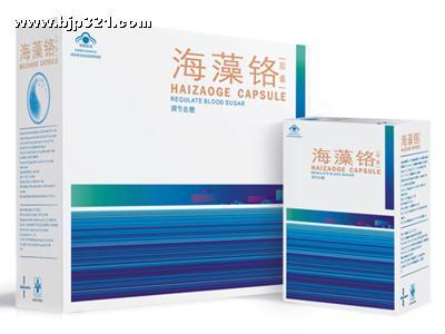 蓝钥匙牌海藻铬胶囊(调节血糖)