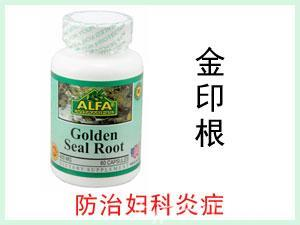 美国ALFA Golden Seal Root 金印根提取物胶囊 60粒