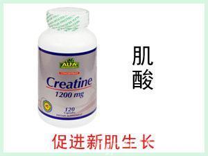 美国ALFA Creatine肌酸营养胶囊 120粒