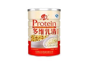 多维乳清蛋白质粉金音450G