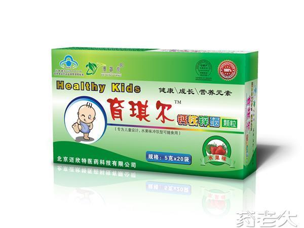育琪爾 鈣鐵鋅硒 顆粒