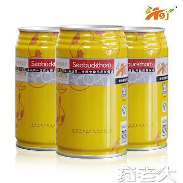 中华沙棘果汁饮料(易拉罐装)