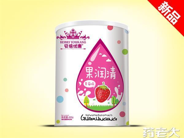 新品水果味听装果润清草莓味现全国招商