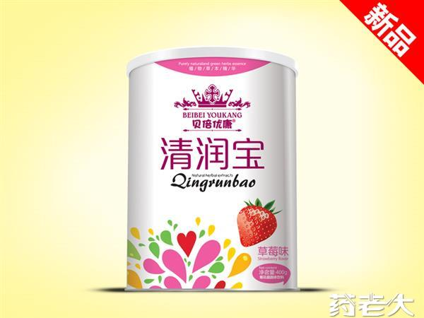新品水果味听装清润宝草莓味现全国招商