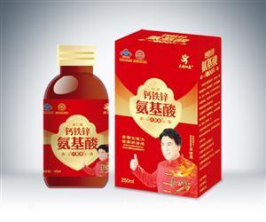 钙铁锌氨基酸口服液(金卡单瓶)250mlx1