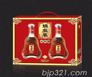 蛹虫草人参酒(500mlx2瓶)