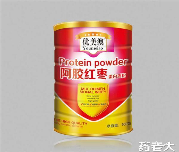 优美澳阿胶红枣蛋白质粉