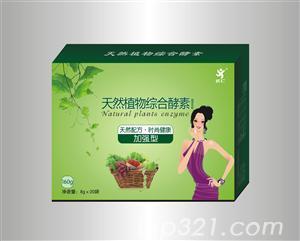 天然植物综合酵素固体饮料