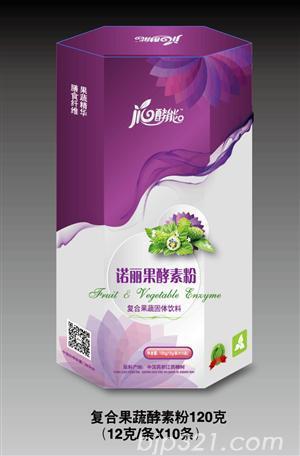 诺丽果酵素粉复合果蔬固体饮料120g(12克/条*10条)