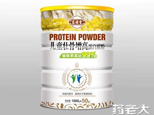 兒童壯骨增高蛋白質粉