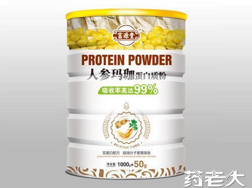 人參瑪珈蛋白質粉