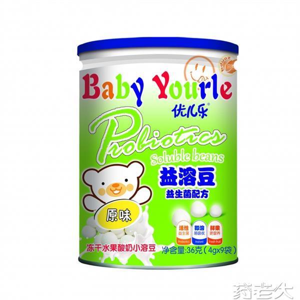 桶装原味益溶豆