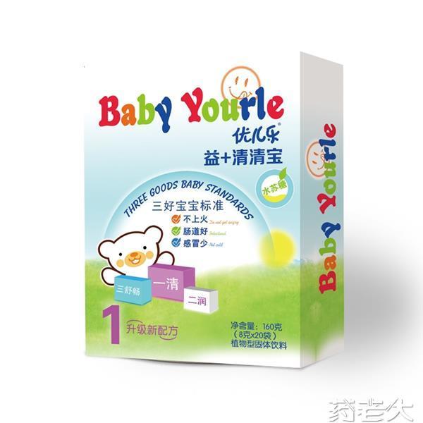 益+清清宝盒装 婴儿产品 婴童产品