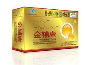 金辅康辅酶Q10天然维生素E软胶囊